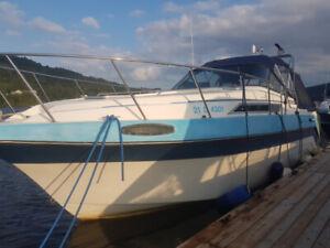 bateau Peterborough 27 pieds ligne de flottaison  31 pieds total
