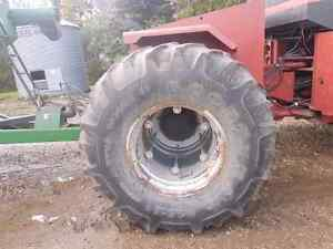 Steiger tires and rims