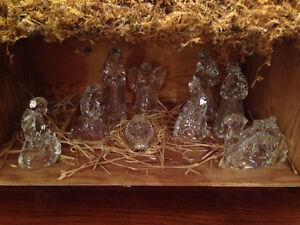 Princess House Nativity Set