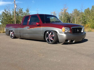 CUSTOM BUILT SHOW TRUCK WITH AIR RIDE
