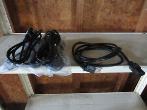 6 ft power cords for computers or power supplies