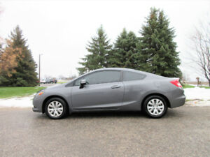 2012 Honda Civic LX Coupe- Automatic w/ 136K!!  2 SETS OF TIRES