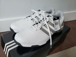Brand new in box Men Adidas golf shoes Adipower TR US9.5