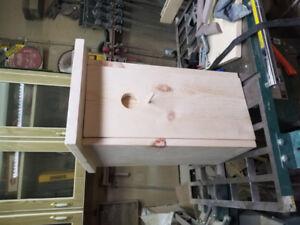 Secret liquor cabinet/ birdhouse