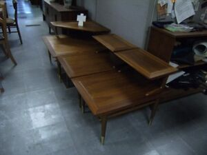 WALNUT COFFEE TABLE & END TABLE SET BY LANE Peterborough Peterborough Area image 7