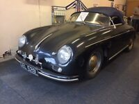 porsche 356 speedster replica for sale lhd