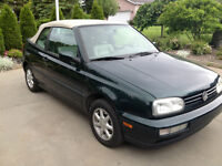 1995 Volkswagen Cabrio voiture de collection