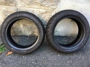 Used Vee Rubber 120/70-12 & 130/70-12