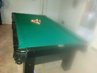 Slate Pool Table - Excellent condition *** New Price ***