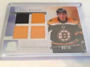 09/10 The Cup Foundations Jerseys Brad Marchand 6/25