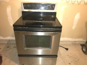 Used Stainless steel Whirlpool Electric Stove