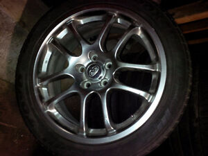 Infiniti G35 6MT Sport Rims/Wheels (complete set of 4) for sale