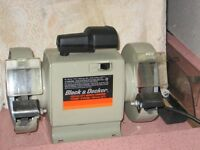 "Black & Decker 5"" Bench Grinder"