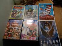 9 Films pour enfants pour 20$ (Plusieurs recents)