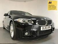 2015 15 BMW 5 SERIES 2.0 520D M SPORT 4D AUTO 188 BHP DIESEL