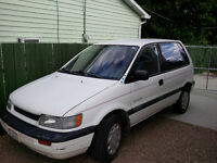 1992 Mitsubishi Other EAGLE SUMMIT Minivan, w winter tires