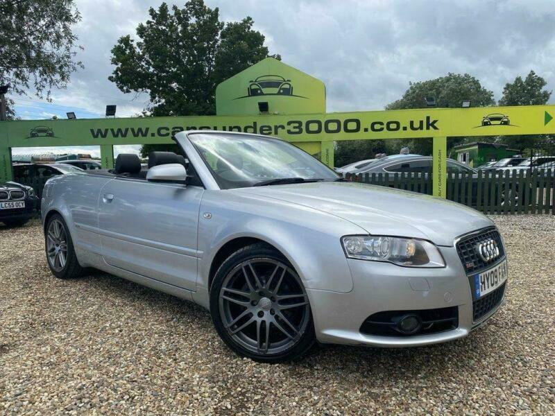 2009 Audi A4 2.0 TDI S LINE SPECIAL EDITION 2d 141 BHP Convertible Diesel Automa