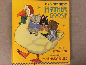Children's mother goose nursery rhymes book
