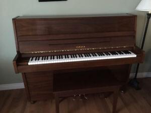 "Fully reconditioned 1981 46"" Yamaha Studio Piano"