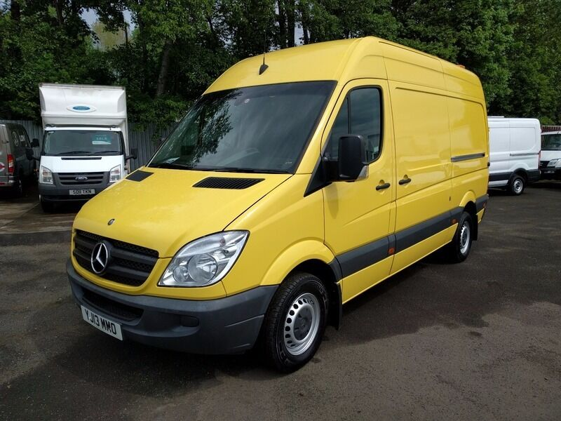 mercedes sprinter 319 cdi mwb yellow 2013 in east end glasgow gumtree. Black Bedroom Furniture Sets. Home Design Ideas