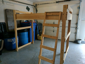 Homemade Loft bed