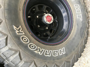 Hankook Dyna pro tires and rims