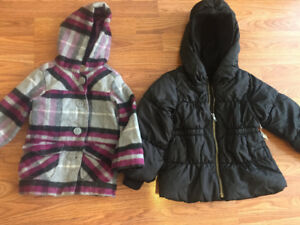 Toddler girls fall jackets