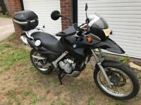 BMW F 650 GS STARTS AND RIDES LONG MOT 2019