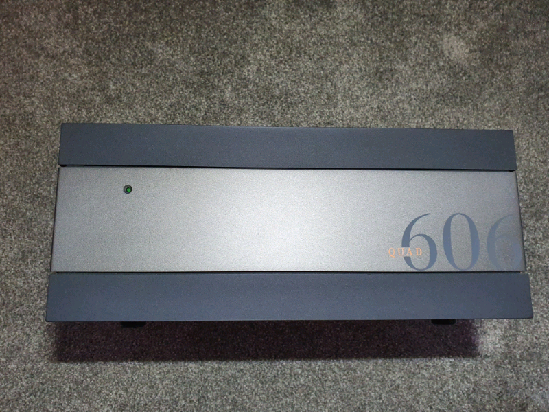 Quad 606 Power Amplifier  for sale  Milnrow, Rochdale