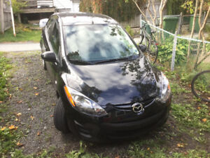 Mazda2 for sale with extra set of winter tires on rim