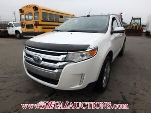 2013 FORD EDGE LIMITED 4D UTILITY FWD 3.5L LIMITED