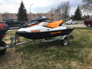 2017 seadoo gts, only 8 hrs on it