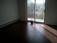 Large 2 Bdrm, Heated, Balcony, Parking, Security, Laundry May 1