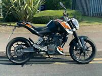 2016 KTM DUKE 125 LEANER LEGAL DELIVERY AVAILABLE 1 OWNER FROM NEW