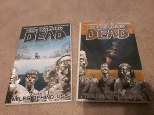 The Walking Dead Graphic Novel/Comic Vol's 2 & 4