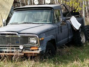 Jeep j20 pickup 3/4 ton