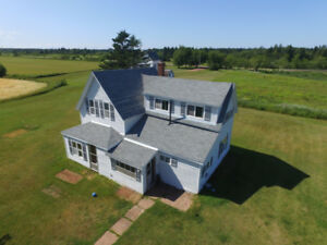 Country Farm House and lots of land. St. Roch PEI