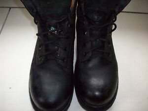 Mens Leather Timberland Pro CSA work boot Size 8W