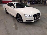 Audi A5 White 2.0L Diesel Low mileage