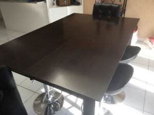 High top dinning table