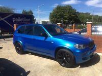 BMW X5 diesel M sport tax mot lady owner rare colour fully loadad drive away bargain