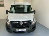 2020 Vauxhall Movano F2800 L1 H2 SWB MR Diesel 1 Owner Euro 6 Combi Van Diesel M