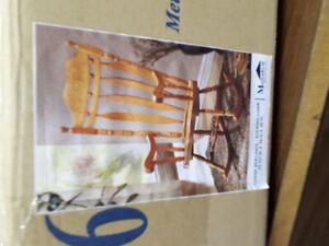MONARCH - Hard Wood ROCKING Chair - OAK
