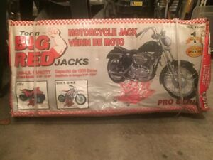 Big Red Motorcycle Jack