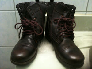 zippers  vintage  men's boots spring