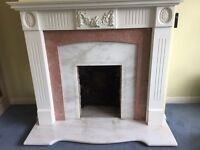 FIREPLACE SURROUND IN WHITE