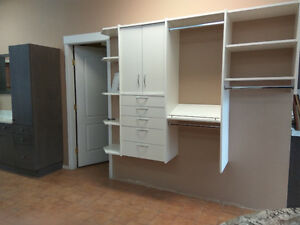 CLOSET SYSTEM FOR SALE