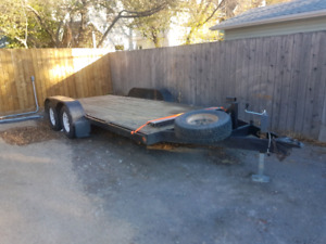 For Rent: 16 ft car trailer