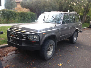 1988 Toyota Land Cruiser fj62 amazing winter vehicle