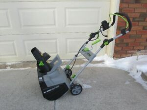 Electric Snow Thrower for sale